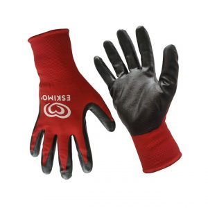 JSME4746 - Nylon & Nitrile Safety Gloves