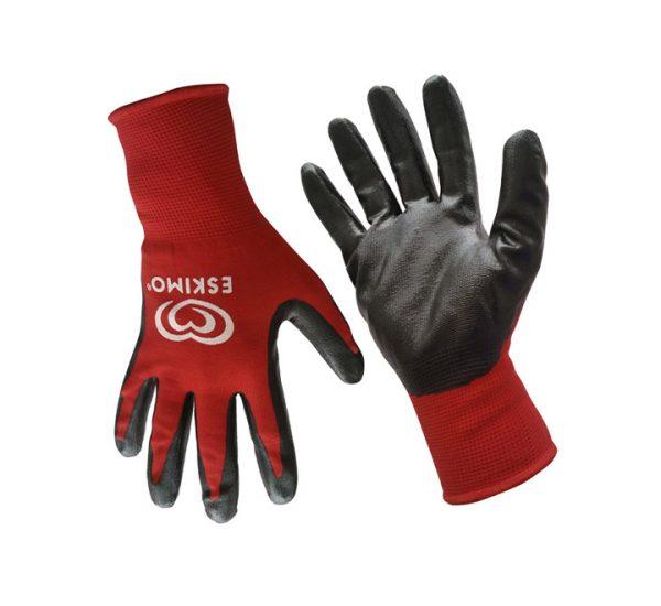 JSME4746 - Nylon & Nitrile Safety Gloves