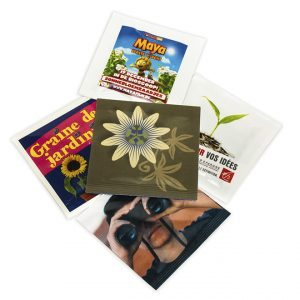 Printed Seed Packets - 55x55mm