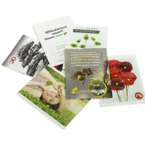 Printed Seed Packets - 60x80mm