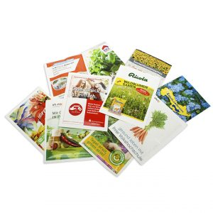 Printed Seed Packets - 82x110mm